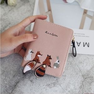 NEW FOXY Leather Wallet Multi Card Slot Coin Purse